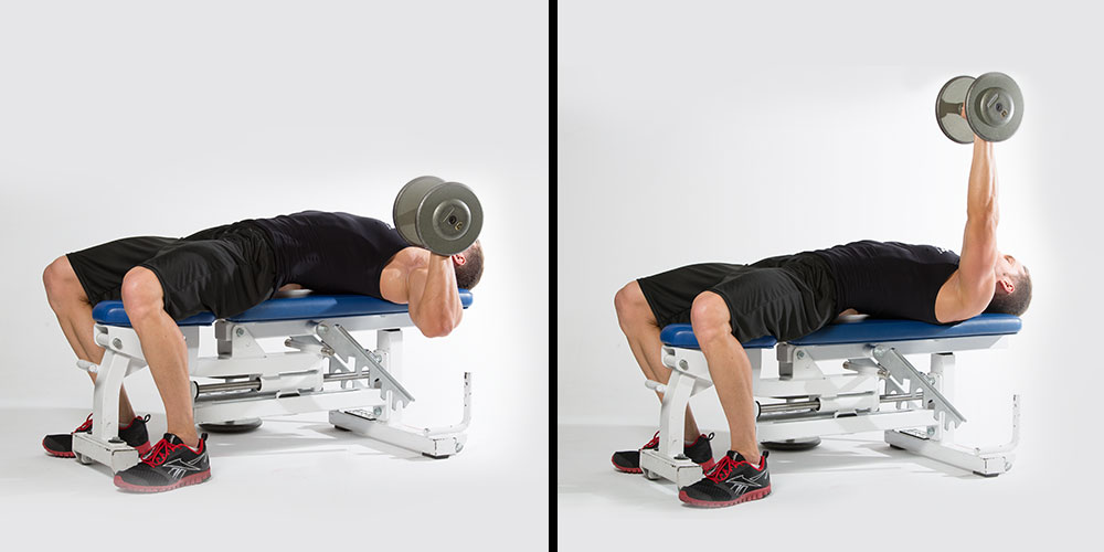 Bilateral chest press